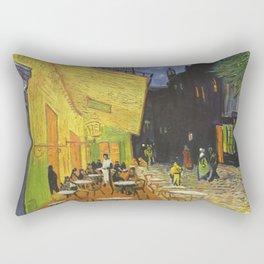 Van gogh - Cafe terrace at night Rectangular Pillow