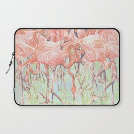 Flamingo Meadow Laptop Sleeve
