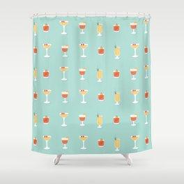 Cocktails Shower Curtain