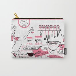 Baking Day Fun With Mister Kitty Carry-All Pouch