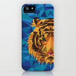 Liger Abstract - Its a Lion Tiger Hybrid iPhone Case
