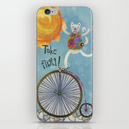 Take Flight With The Sun On Your Face iPhone Skin