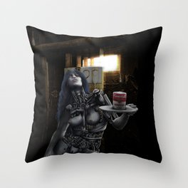 soup tin Throw Pillow