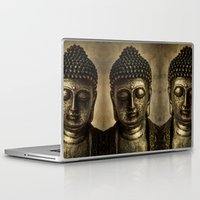 meditation Laptop & iPad Skins featuring Meditation by inkedsandra