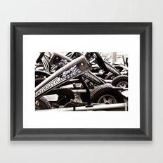 Pedal Cars Framed Art Print