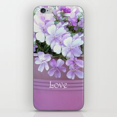 Phlox Love iPhone & iPod Skin