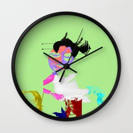 Anonymous S Wall Clock