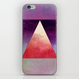 Triangle Composition XI iPhone Skin