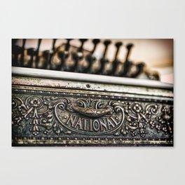 National Cash Canvas Print