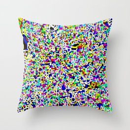 Trippy Pattern Throw Pillow