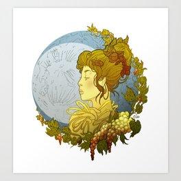 Trinity Goddess Series | Maiden Art Print