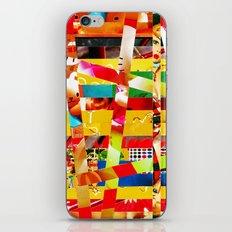 Jiseo (stripes 12) iPhone & iPod Skin