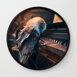 Piano Lesson Wall Clock
