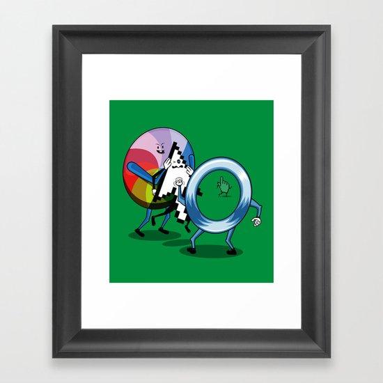 System bullies Framed Art Print