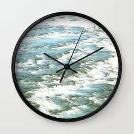 Sound of Gullfoss Wall Clock