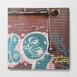 #76Photo #84 #StreetTextures #StreetColours #Graffiti #Johannesburg Metal Print