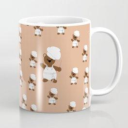 Teddy Bear Cook Coffee Mug