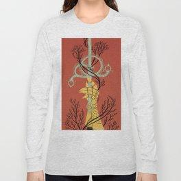 Ace of Swords Long Sleeve T-shirt