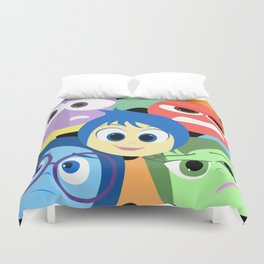 Pixar Animated Movie Inside Out Duvet Cover