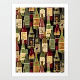 Wine Bottles Kunstdrucke
