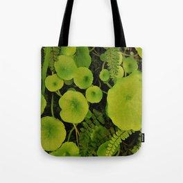 Little green world Tote Bag
