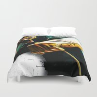 dave grohl Duvet Covers featuring Dave Lizewski by D77 The DigArtisT