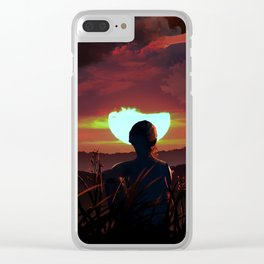 Above the Sun Clear iPhone Case