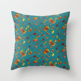 see you around Throw Pillow