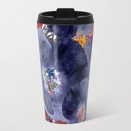 Floral abstract(63) Travel Mug