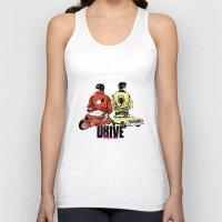 akira Tank Tops featuring Drive / Akira  by KScully