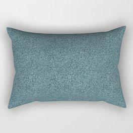Blue jeans pattern Rectangular Pillow