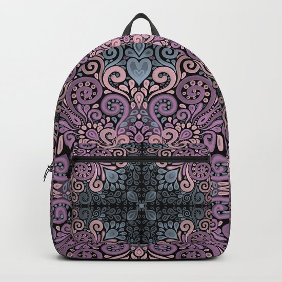 Watercolor Ornate Seamless Pattern Backpack
