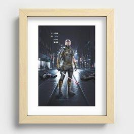 Ronin Recessed Framed Print