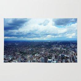 Toronto Cityscape Rug