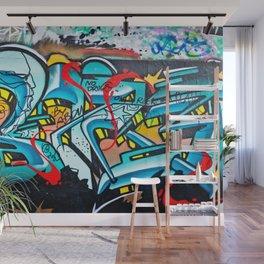 Subway Graffiti Art Wall Mural