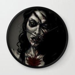 Zombie Jessi Wall Clock