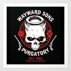 Wayward Sons Art Print