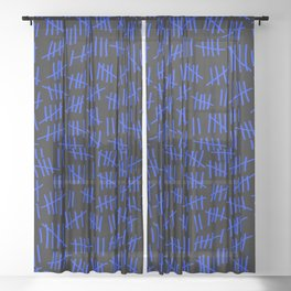 April 23rd (#8) Sheer Curtain
