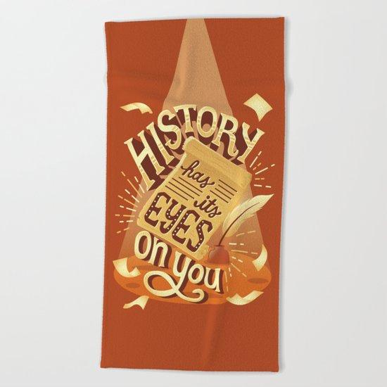 History Beach Towel