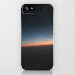 Night Fall from the Sky iPhone Case