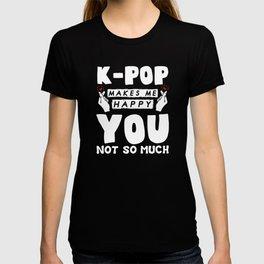 K-Pop K-drama Korean Pop Music KPop Kdrama T-shirt