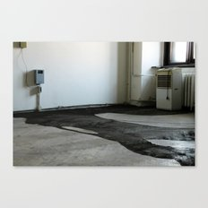 LOST PLACES - liquefied zonked man Canvas Print