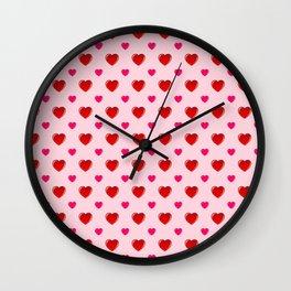 Valentine's Day Wall Clock