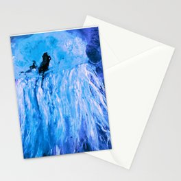 Nightlife on the Seabed Stationery Cards