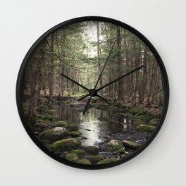 Mossy Brook Wall Clock