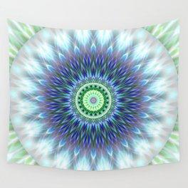 Light Mandala Wall Tapestry