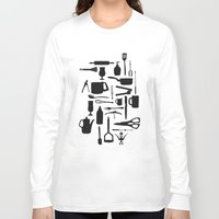 kitchen Long Sleeve T-shirts featuring Kitchen by ValD