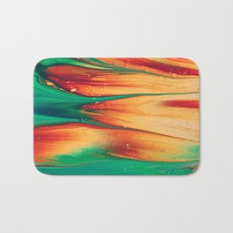 summer colors run together Bath Mat