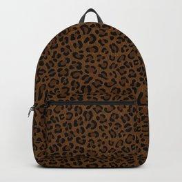 Leopard Print - Dark Backpack