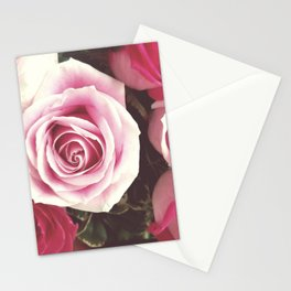 Roses are Love Stationery Cards